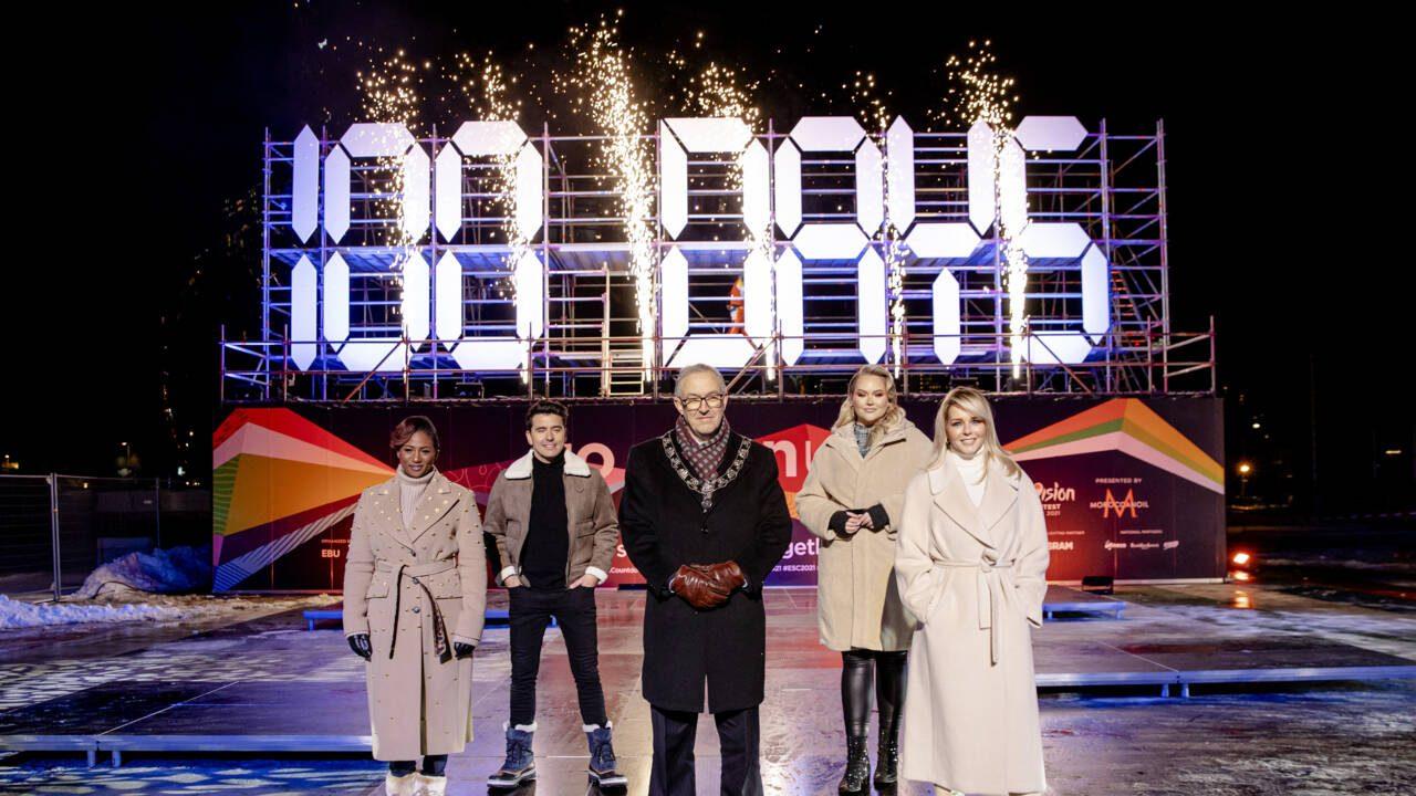 100 days Eurovision 2021