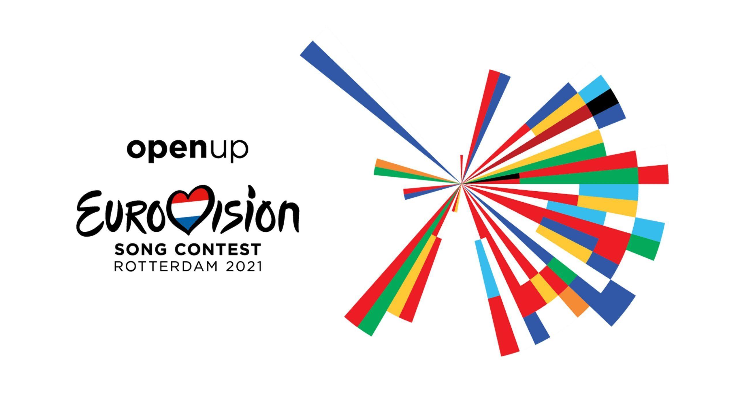 eurovision 2021 logo roterdam rotterdam open up