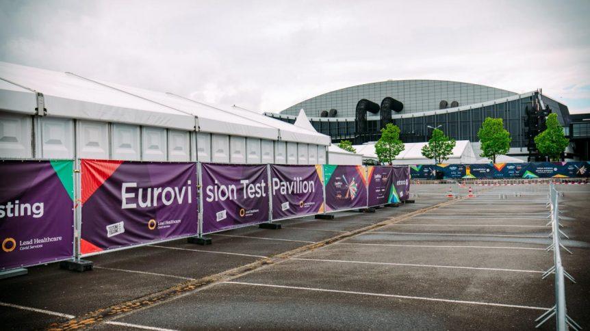 eurovision test pavilion