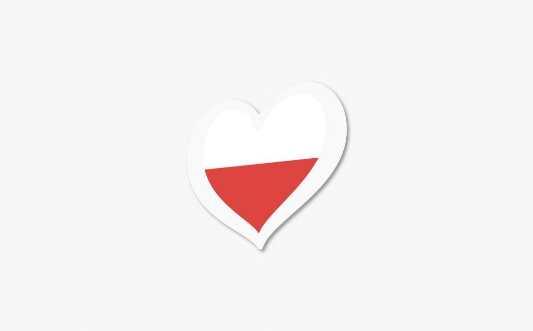polonia corazon